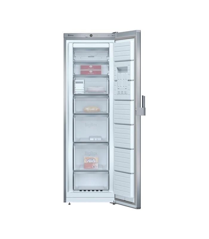 Congelador vertical balay 3gf8667p outletelectro for Congelador vertical pequeno